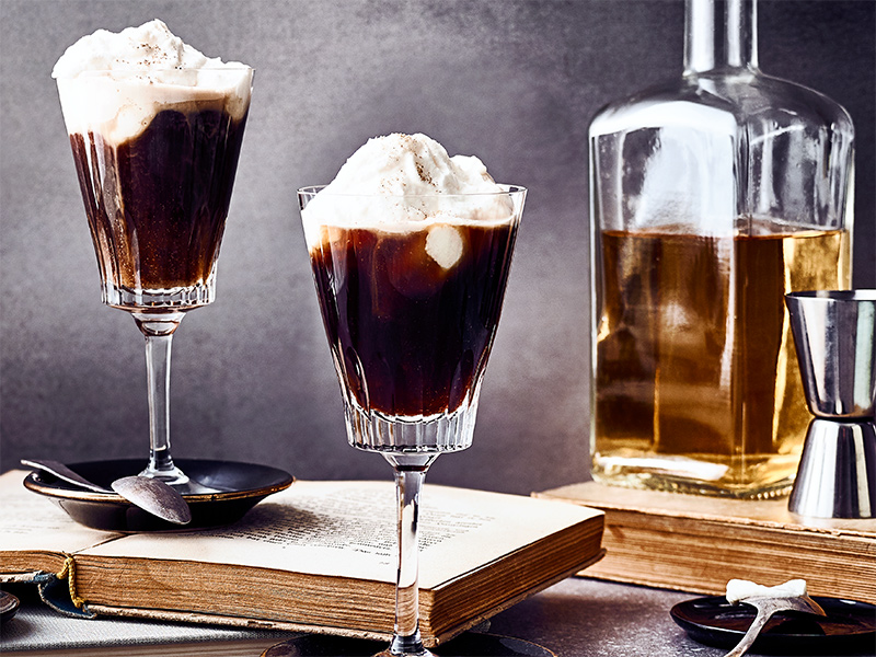 Irish Coffee Rezept by WINDGES, EDEKA Frische-Center, Hochdahler Markt, Erkrath