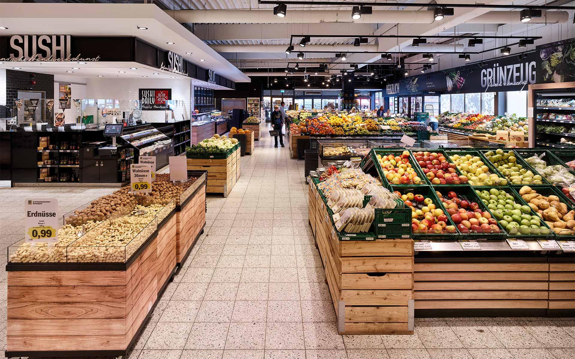 Windges Obst & Gemüse, Sushi, Salatbar