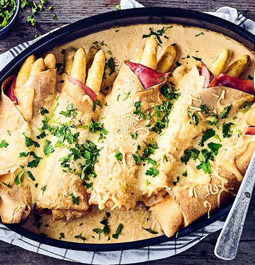 Spargel + Pfannkuchen = Spargelpfannkuchen